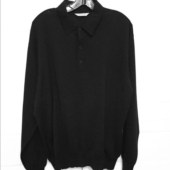 timeless design 0400a 3f431 Dalmine Cashmere Blend Collared Sweater